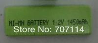 DHL Free shipping 500pcs/lot rechargeable NI-MH 1.2V 1450mAh battery