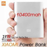 Hot Sale Original Portable Xiaomi Power Bank 10400mAh For Xiaomi M2 M2A M2S M3 Red Rice Smartphone