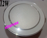 Free shipping wholesale  AC85-265V 12W LED downlight SMD5630/5730 led down light lamp hole size 110mm