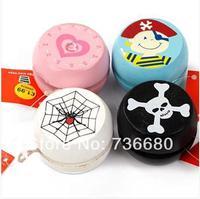 Promotion, Hot Selling Colorful wood  Flash YoYo Ball Luminous Yo Yo New Child Clutch Mechanism Yo-Yo Children toys