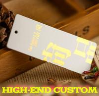 162 Customized Garment gift hang tags 1000 pcs/lot Free drill hole