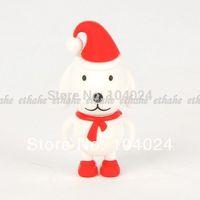 Free Ship Wholesale 10pcs lot white cute pig model USB Flash drive 2.0 U disk pen stick memory