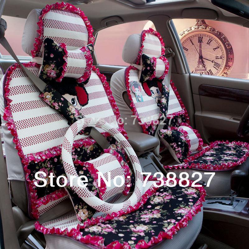 5 Color Car Covers Set Fiberflex Cute Baby Car Seat Cover