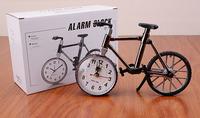 2014 creative fashion bicycle alarm clock sport alarm clock