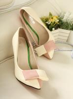 Pointed shoes single shoe korean sweet ol fashion high heels