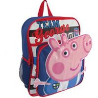 Retail Children School Bags Peppa Pig Cartoon Animal Kids  Backpack Baby Schoolbag free shipping #19