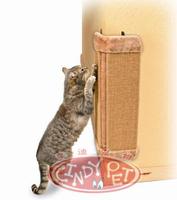 Free Shipping Sisal Rope Wall Corner Fixed Folding Cat Scratch Board Pet Supplies Plush Toy 50*23*2.5CM