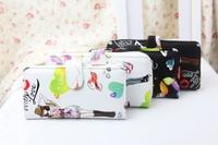New 2014 Little girl summer wallet women's all-match long design wallets purses brand carteira feminina,Free Shipping x
