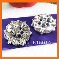 Crystal rhinestone button  for wedding bouquet flower,rhinestone embellishment for wedding   200pcs/lot