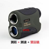Opteck laser rangefinder 400 velocimeer rangefinding handheld telescope infrared measuring instrument