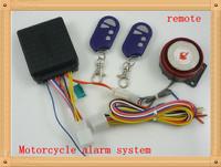Free Shipping 50PCS/Set Wholesale Motorcycle Bike Alarm system 12V Motorcycle Bike Anti-theft /Remote Control Engine Start