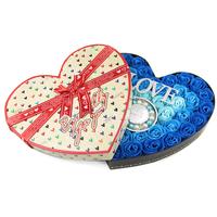 Carty soap flower girlfriend birthday gift 50pcs/case