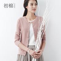 Cardigan sweater female 2014 spring women's cotton outerwear female sweater cardigan female