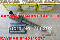 Common rail injector 0445110277 0445110278 for HYUNDAI 33800-4A600