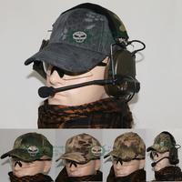 outdoor travel sunbonnet sports cap tactical baseball cap men's casual cap Multicam