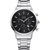 WEIDE Watches Men Quartz Sports Watch Luxury Brand men full stainless steel wristwatch Calendar Famous Relogio masculino WH3312