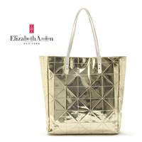 Elizabe tharden women's patent leather handbag one shoulder handbag