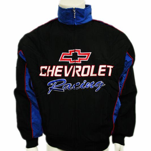 F1 roupas automóvel carro de corrida chevrolet outerwear de manga comprida de algodão acolchoado jaqueta logotipo bordado a126(China (Mainland))