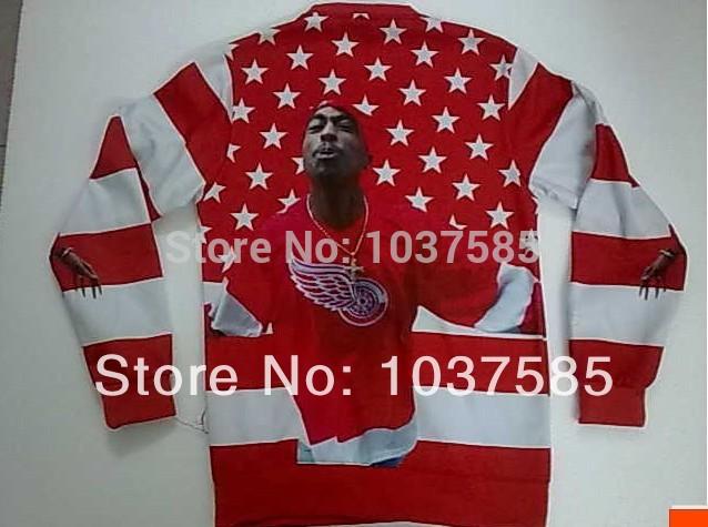 mens roupas de moda do punk hip hop 1991 Biggie inc tripulação tupac pescoço camisolas Tupac Shakur camisola 2pac tupac capuz(China (Mainland))