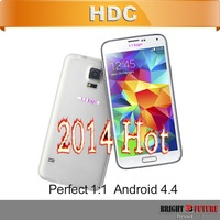 DHL Free Shipping Perfect 1:1 clone i9600 S5 phone quad core MTK6582 Octa core MTK6592 2GB RAM 3G WCDMA Android 4.4
