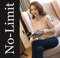 2014 Spring casual Blouse Women Office women's Blouses females Weave Collar shirts blusas feminina free shipping
