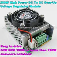 High Quality 200W DC-DC Step-Up 10-16Vto12-20V10A Converter DC12V To DC19V Boost Charger Power Converter Modules for Notbook Car