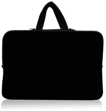 """HOT! Fashion Classic Black 17.1. """"17.3"""" 17.4 """"inch Laptop Notebook Business Handle Case Bag Sleeve Pouch Cover invisible hand(China (Mainland))"""