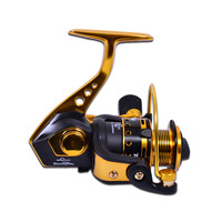 Free shipping, SA5000 11+1 shaft metal double bearing spinning wheel fishing reel