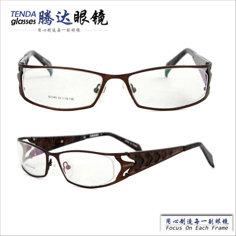 Eyeglass Frames Wide Temples : New-model-full-rim-wide-temple-metal-frames-eyewear-for ...