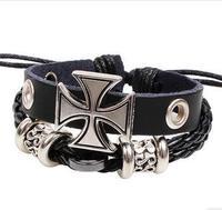 Q3321  Nimesulide Roman cross explosion models personalized bracelet men bracelet jewelry  B4