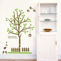 The third generation wall stickers eco-friendly pvc material living room background wall decoration stickers dm69-0040