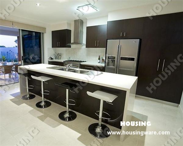 modern brief kitchen cabinet customize whole kitchen cabinets(China (Mainland))