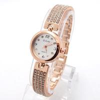 Wholesale New Women Watch Brand Luxury Full Crystal Fashion Dress Quartz Wristwatches GO099
