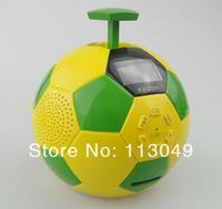 2014 World Cup gifts, football mini card Bluetooth Speaker, MP3, Mobile Mini Portable Football shape USB Speaker