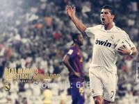 "004 Cristiano Ronaldo - Real Madrid Super Star Soccer Player  18""x14"" Poster"