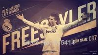 "005 Cristiano Ronaldo - Real Madrid Super Star Soccer Player  24""x14"" Poster"