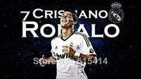 "001 Cristiano Ronaldo - Real Madrid Super Star Soccer Player  24""x14"" Poster"