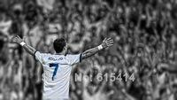 "002 Cristiano Ronaldo - Real Madrid Super Star Soccer Player  24""x14"" Poster"