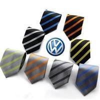 Shanghai volkswagen 4s tie silk scarf formal tie vw women's silk scarf