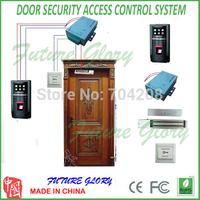 New Arrival Complete Fingerprint Door Access control system DIY Access Control Kit  Fingerprint  and Id card Door Access Control