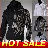 New 2014  Men Hooded Jacket For men Casual  Winter Jackets Hoody Sportswear Men's Clothing Hoodies Sweatshirts X419