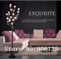 Stunning!Modern Floor Lamp,Floor Lights With Beautiful Cherry Lamp Shade Guaranteed 100%+Free shipping!