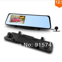 """2014 New Car Camera 6000B Android 4.0system Car Rearview Mirror 1080P 30fps Touch screen 4.3"""" LCD with G-sensor Night Vision GPS"""