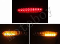 Smoke Integrated LED Tail Light Signals For Kawasaki Ninja ZX6R 2007 2008
