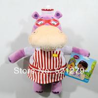Free shipping 1pcs 33cm=13inch original Doc McStuffins toy Hallie plush hippo stuffed animals toys for girls