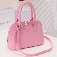 Korean version of casual street lady PU shoulder / diagonal / handbag 2014 new handbag shell package deals