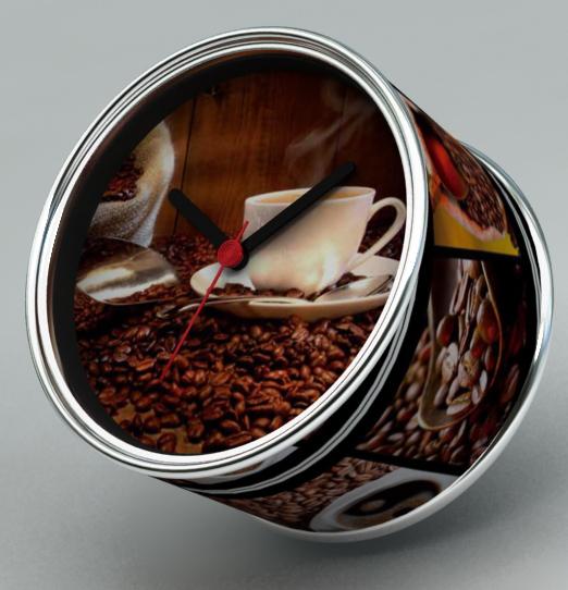 2014 nova DIY de café do projeto magnéticos relógios de parede baratos, secretária relógios baratos, barato relógios de de função(China (Mainland))