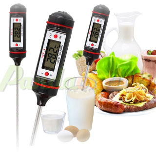 -50~300 WT-1 LCD Digital Probe Meat Milk Food Thermometer Kitchen Cooking Thermometer Black #1600202(China (Mainland))
