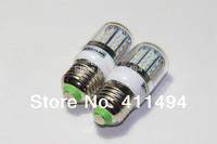 5pcs/lot New Arrival E27 6W No Dimmer Support Warm White / White 3014 SMD 48LEDS Light Bulb Lamp Energy Saving 12V 14V 24V