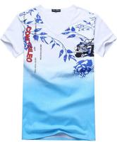 free shipping men's short sleeve t shirt, 2014 summer Men's cotton t shirts,short sleeve t-shirts men  clothing 18.8